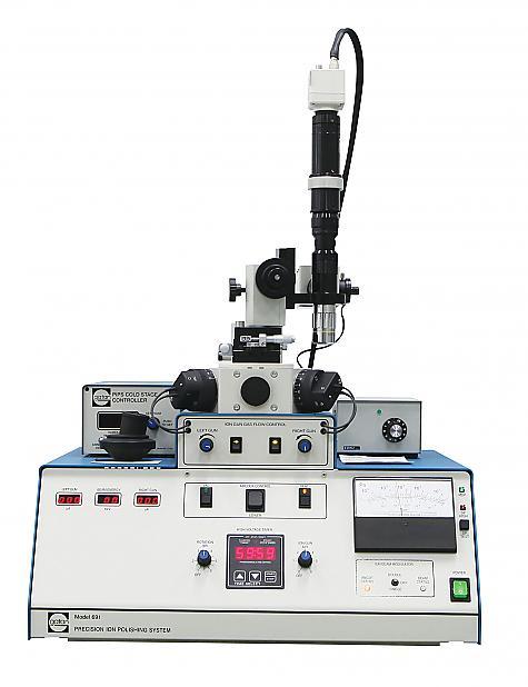 Precision Ion Polishing System (PIPS)